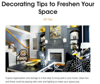 PS Decorating Tips